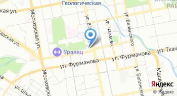 Миграционный центр УГГУ на карте