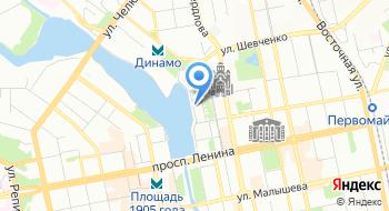 Пироговая Штолле на карте
