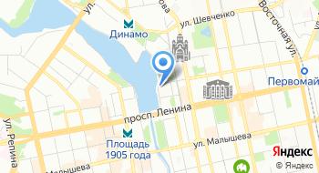 Отделение Пенсионного фонда Российской Федерации по Свердловской области на карте