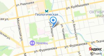 Ветеринарная клиника ВетЕКБ на карте