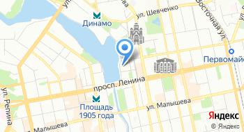Альфа-Банк. Дополнительный офис Исеть филиала Екатеринбургский на карте