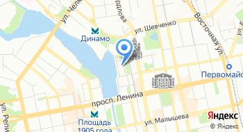 Управление Федеральной службы судебных приставов по Свердловской области на карте