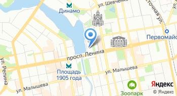 Министерство международных и внешнеэкономических связей на карте