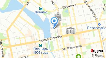 Центр ухода за Больными на карте