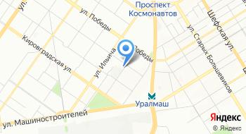 Служба поддержки грудного вскармливания Екатеринбурга на карте