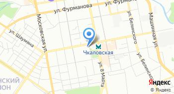Авега на карте