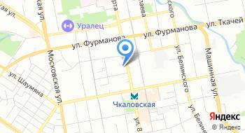 Детская городская больница № 5 поликлиника № 1 на карте