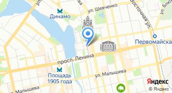 Территориальный орган Федеральной службы государственной статистики по Свердловской области на карте