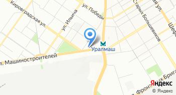 Альфа-Банк. Кредитно-кассовый офис Екатеринбург-Улица Кузнецова на карте