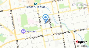 ЦАФАП ГИБДД УМВД России по городу Екатеринбургу на карте