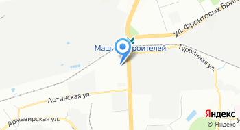 Швейная фабрика Урал Партнер на карте