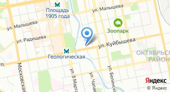 Бильярдный салон на карте