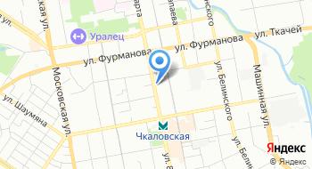 Интернет-магазин Tefal66 на карте