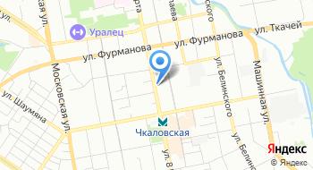 Поросята-Екатеринбург на карте