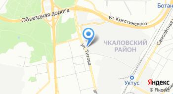 Межрайонная ИФНС России №25 по Свердловской области на карте