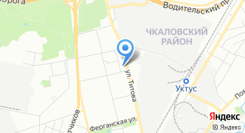 Отдел ЗАГС Чкаловского района города Екатеринбурга на карте