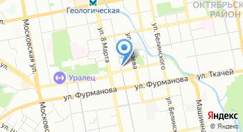 Военторг Тыловик на карте