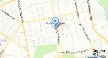 Центр Юность Урала на карте