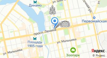 Эхо Москвы Екатеринбург на карте
