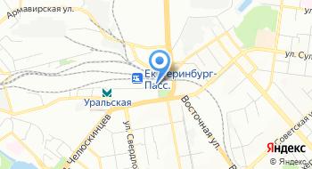 Вагонный участок Екатеринбург на карте