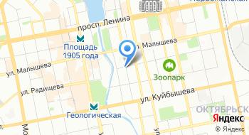 Охрана Управление МВД России по городу Екатеринбургу Ленинского района на карте