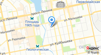 Генеральное консульство Венгрии в Екатеринбурге на карте