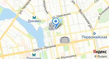 Газпром трансгаз Екатеринбург на карте