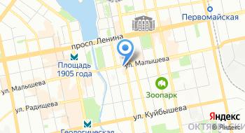ГБПОУ КСО Свердловское художественное училище им. И.Д. Шадра на карте