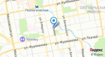 Фгку УВО Внг России по Свердловской области на карте