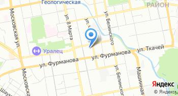 Интернет-магазин Стрелки Урала на карте