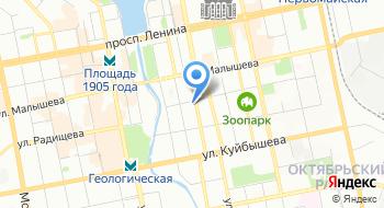 Эй энд Эй Екб на карте