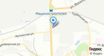 Машиностроительный завод имени М. И. Калинина, типография на карте