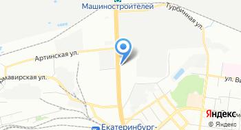 Екатеринбургское Трамвайно-троллейбусное управление Филиал Северное трамвайное депо на карте