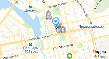 Центр договорного права Via Romea на карте