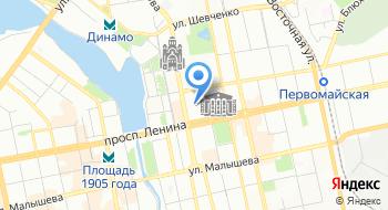 Школа моделей Fashion-1 Екатеринбург на карте