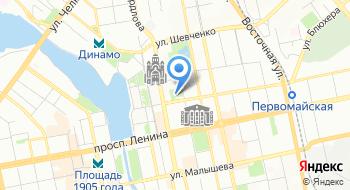 Свердловская государственная академическая филармония на карте