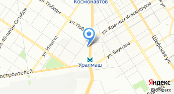 ГАУК СО Уральский центр народного искусства на карте