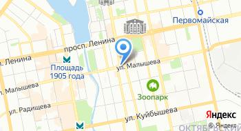 Свердловская государственная детская филармония Репетиционный корпус на карте
