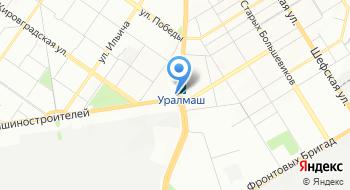 Отдел ЗАГС Орджоникидзевского района города Екатеринбурга Свердловской области на карте