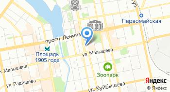 Свердловский областной центр медицинской профилактики на карте