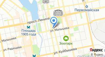 Управление государственной охраны объектов культурного наследия Свердловской области на карте