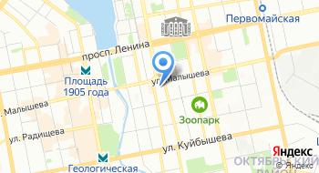 Екатеринбургская галерея современного искусства на карте