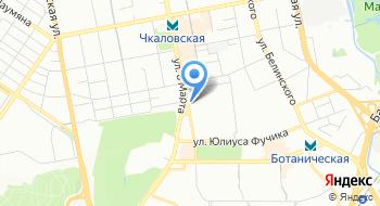 Конечная станция Южная на карте