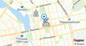 Служба знакомств Валентина на карте