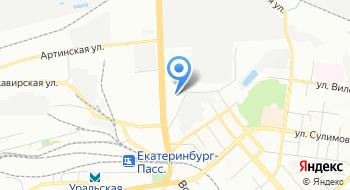 Инкассация Уралтрансбанк на карте