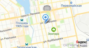 Флодич на карте