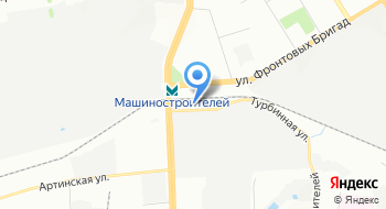 Машиностроительный завод имени М. И. Калинина Медико-санитарная часть на карте