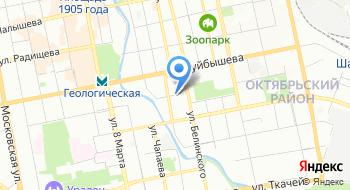ЖК Рябиновый квартал Отдел продаж на карте