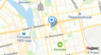 Уралтест на карте