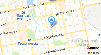 Уральское БТИ на карте